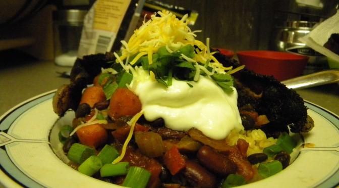 slightly vegatarian chili