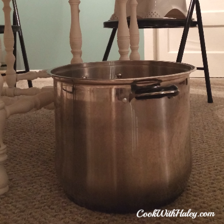 How to Brine a Turkey - large container