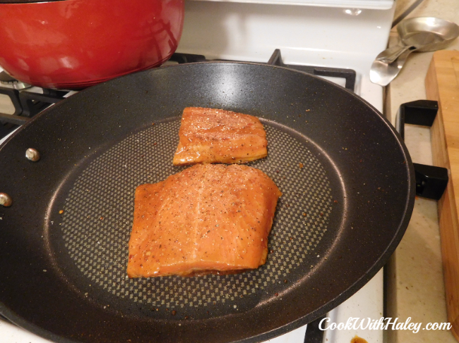 Chili Marinated Trout