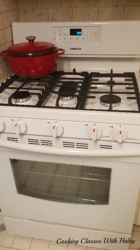 My new gas range!