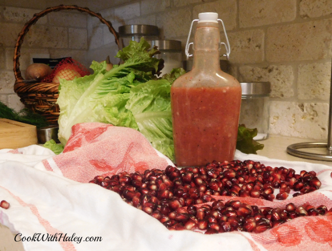 Pomegranate Mustard Dressing