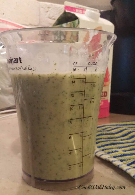 Banana and Kale Smoothie
