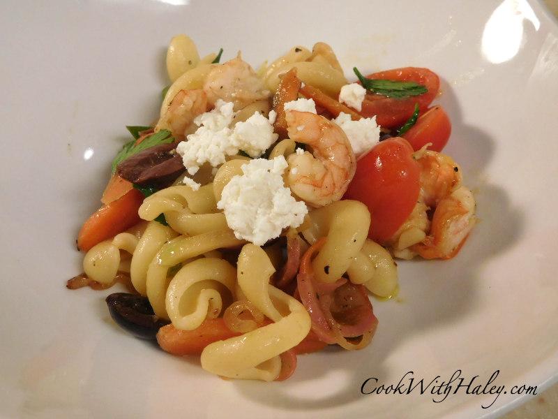 Warm Shrimp and Pasta Salad