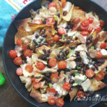Quick Rotisserie Chicken and Brie Nachos