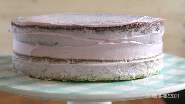 layer cake buttercream filling