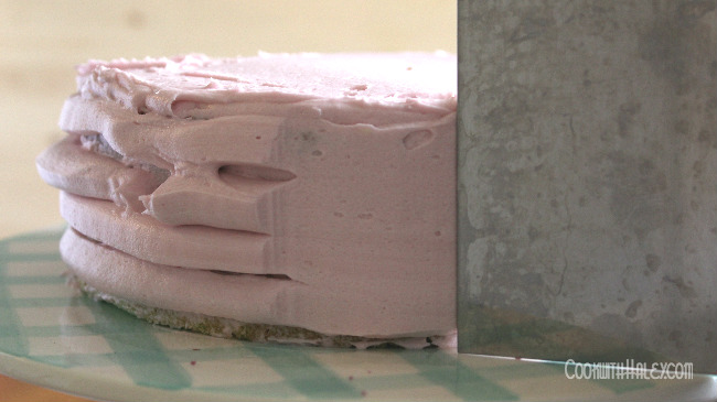 layer cake buttercream frosting