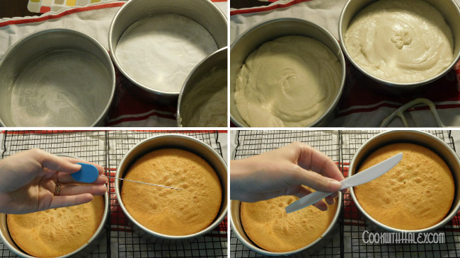 perfect white cake batter