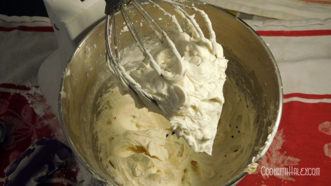 whipped buttercream